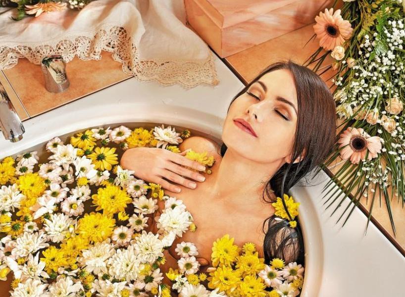 Бальнеологическая ванна с травами фото