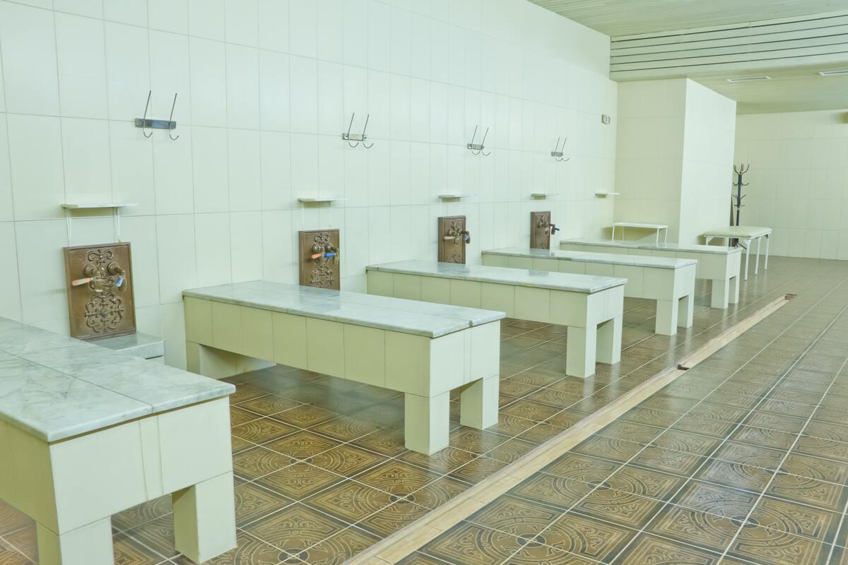 Женские комбинированные бани фото 4
