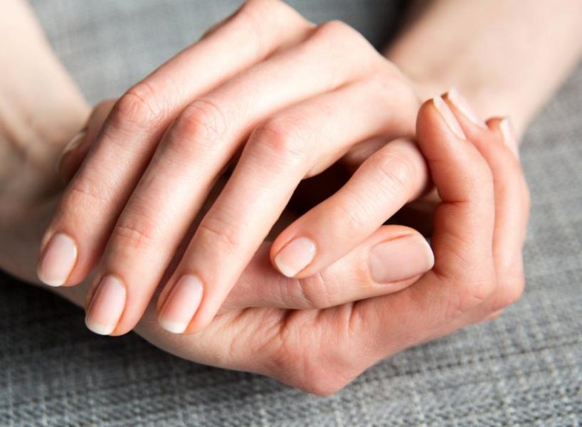 Укрепление ногтей фото