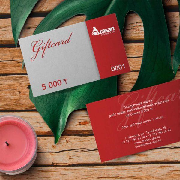 GIFT-КАРТА 5000 фото