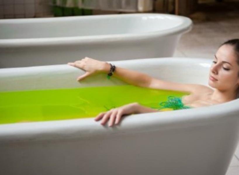 хвойно-минеральная ванна фото