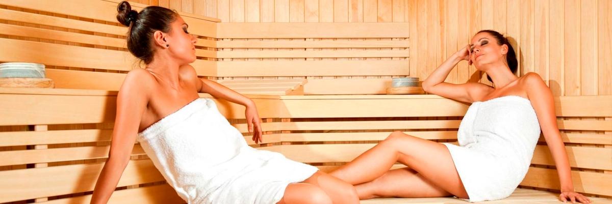 Женские комбинированные бани фото 1
