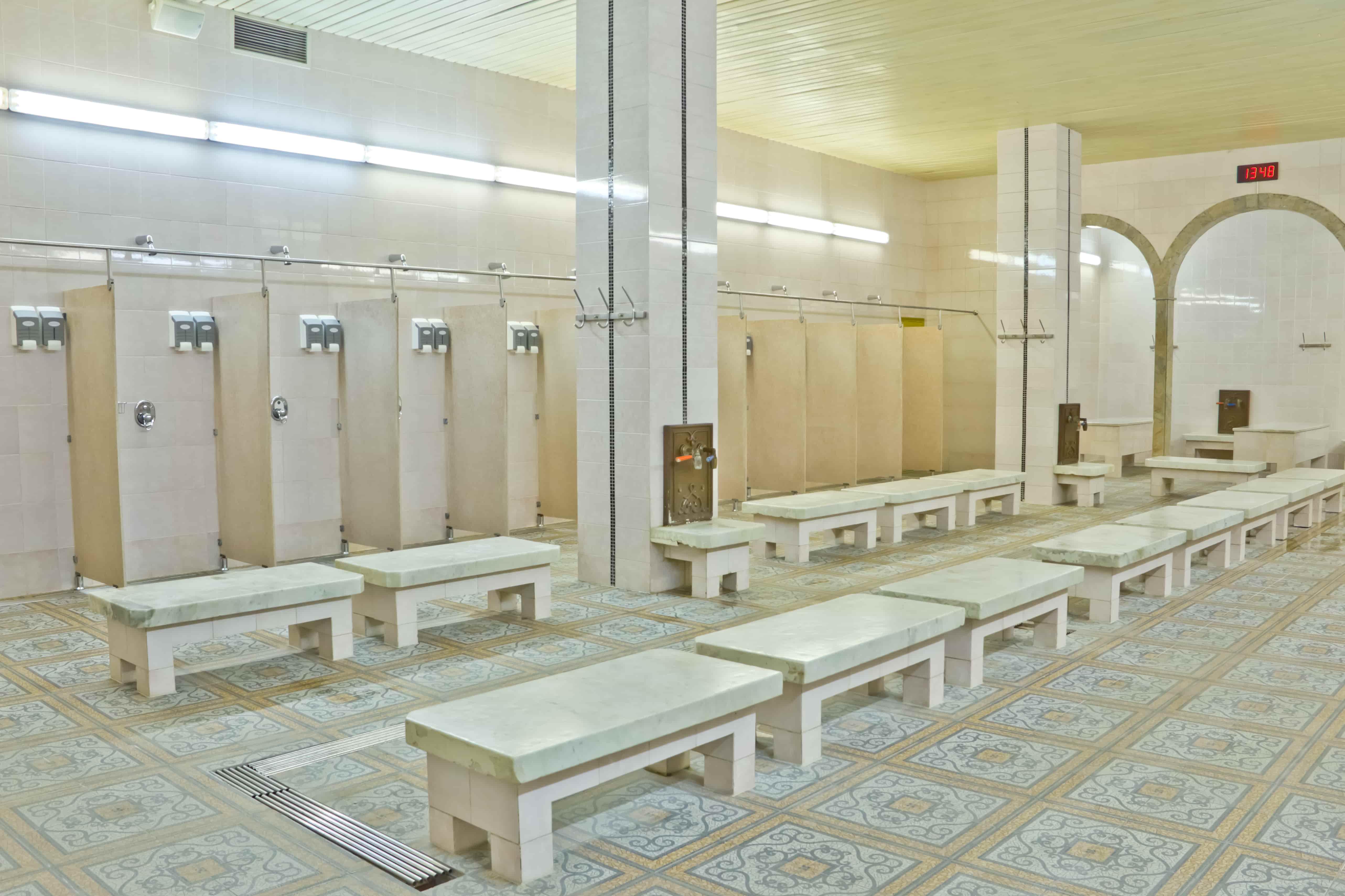 Женские комбинированные бани фото 2